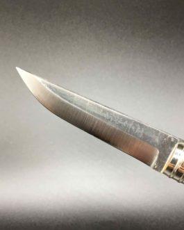 Couteau style finlandais en buis