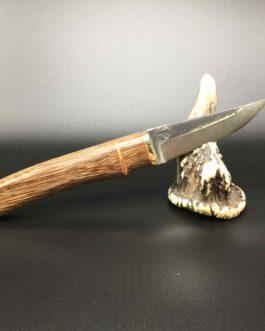 Couteau style finlandais en wacapou